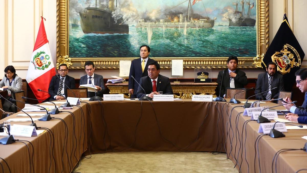 Alberto Oliva, presidente de la Comisión de Justicia, en RPP.