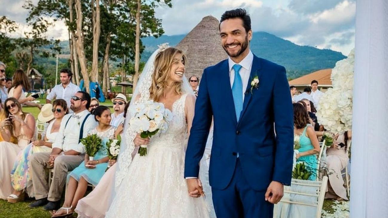 El detrás de cámara de la boda de Fiorella Cayo y Miguel Labarthe.