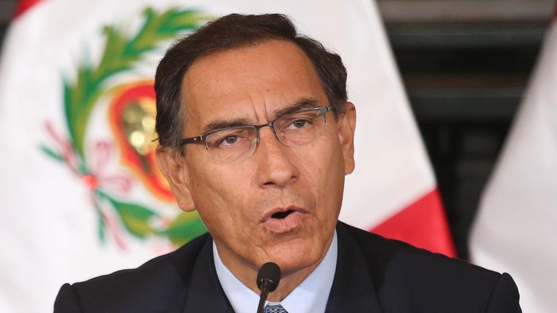 El presidente de la República fue cuestionado por su relación a la empresa CyM Vizcarra.