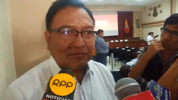 Alcalde de Túcume, Otto Santamaría, aseguró que hará gestiones para que el párroco continúe prestando el local