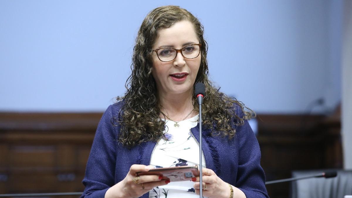 Rosa Bartra, congresista de Fuerza Popular.