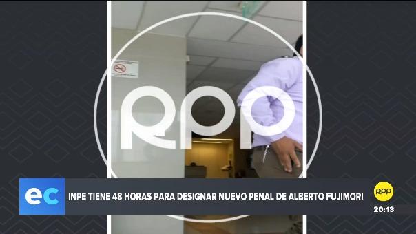 Alberto Fujimori permanece en la clínica Centenario.