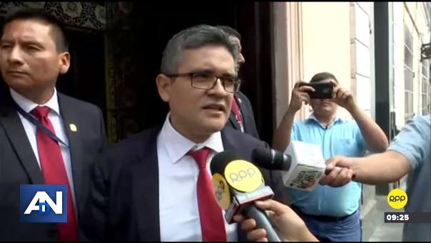 José Domingo Pérez investiga casos que involucran a líderes políticos.