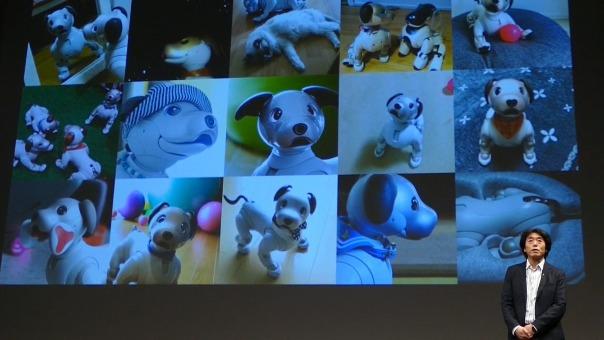 Así fue el evento de presentación de nuevas funciones en Aibo.
