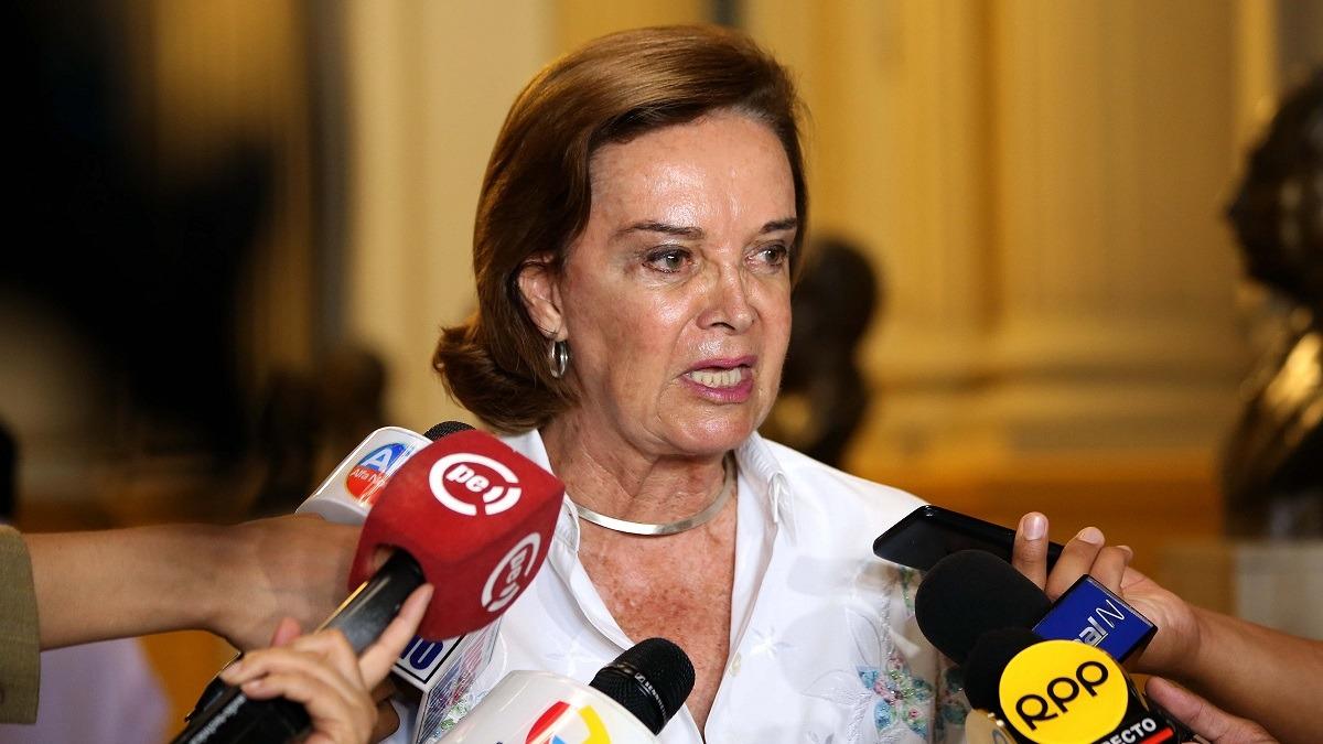 Luisa María Cuculiza, excongresista de Fuerza Popular.
