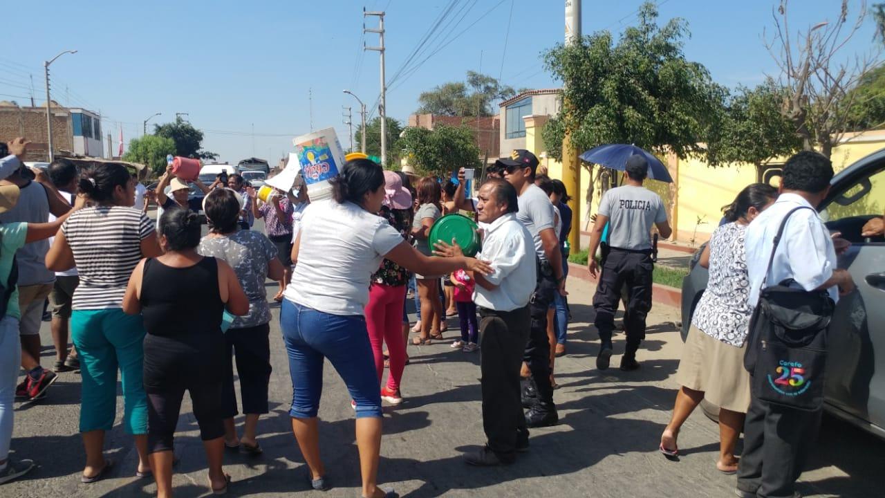 Pobladores de Pacora tomaron la Panamericana norte para ser escuchados