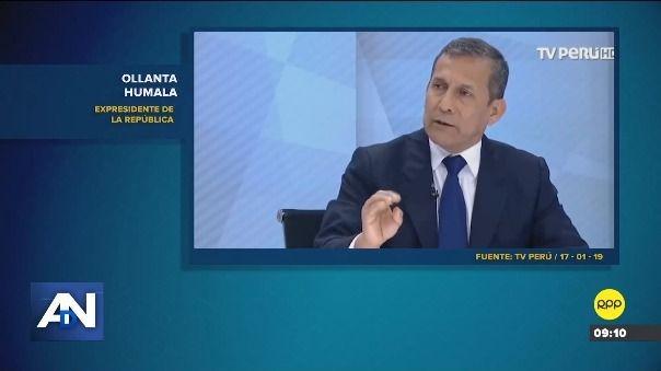 Esto es lo que dijo Ollanta Humala