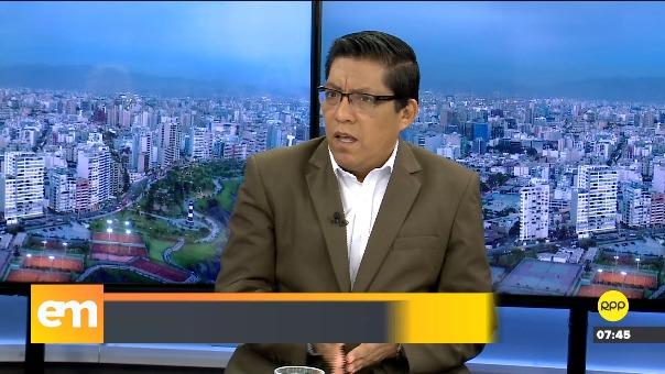 Vicente Zeballos, ministro de Justicia, en RPP.