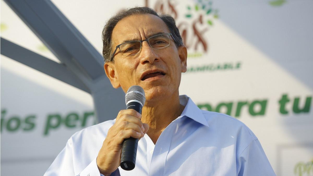 Presidente viajó a Piura para supervisar el avance de las obras para la reconstrucción.