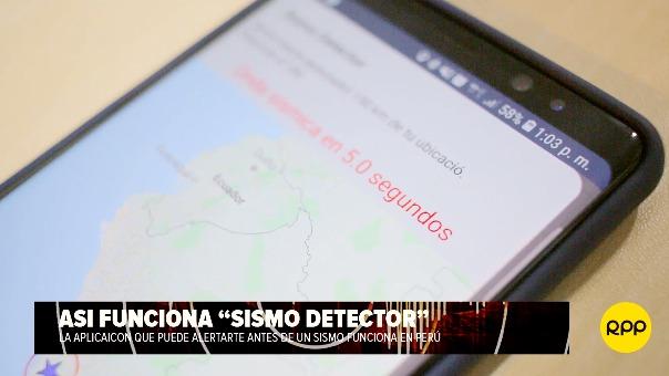 Patricio Valderrama explica el funcionamiento de SISMO DETECTOR