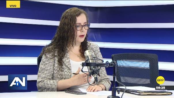 Rosa Bartra, presidenta de la comisión que investigó el caso Lava Jato.