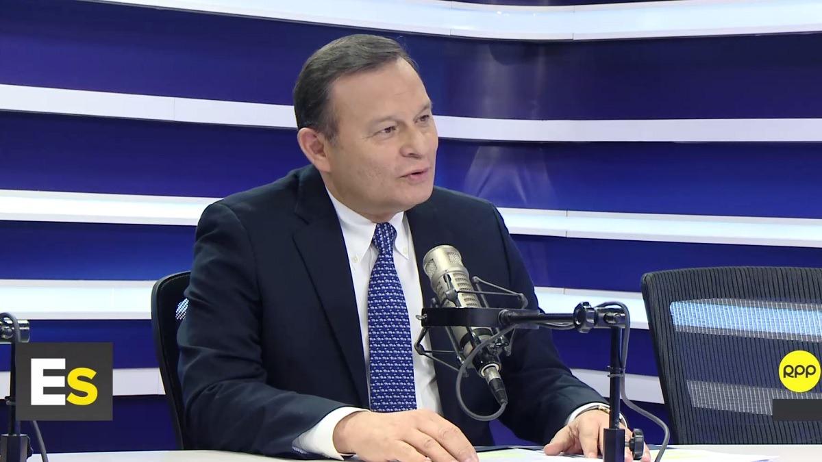 Néstor Popolizio, canciller de la República, en RPP Noticias.