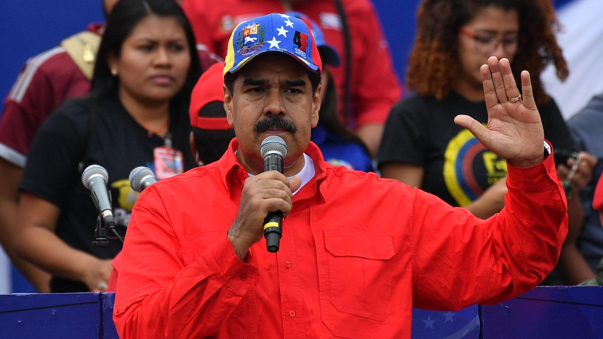 Maduro hizo su primera aparición en público, luego del atentado que denunció haber sufrido el 4 de agosto de 2018.