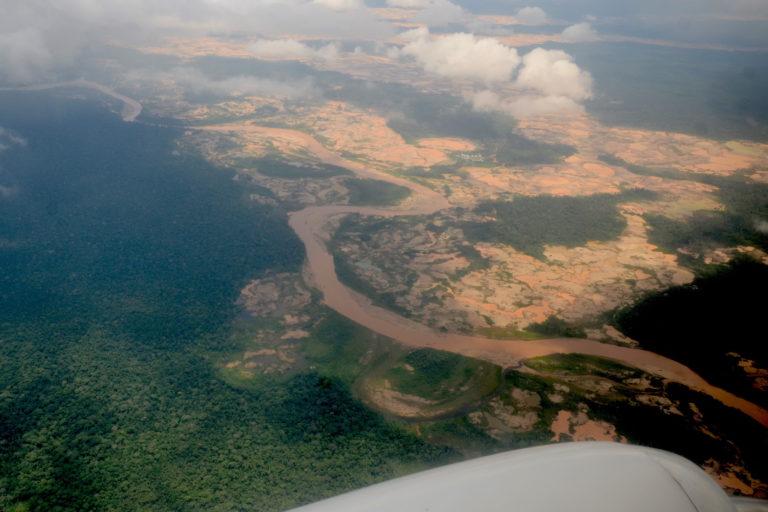 Deforestación en el Alto Malinowski