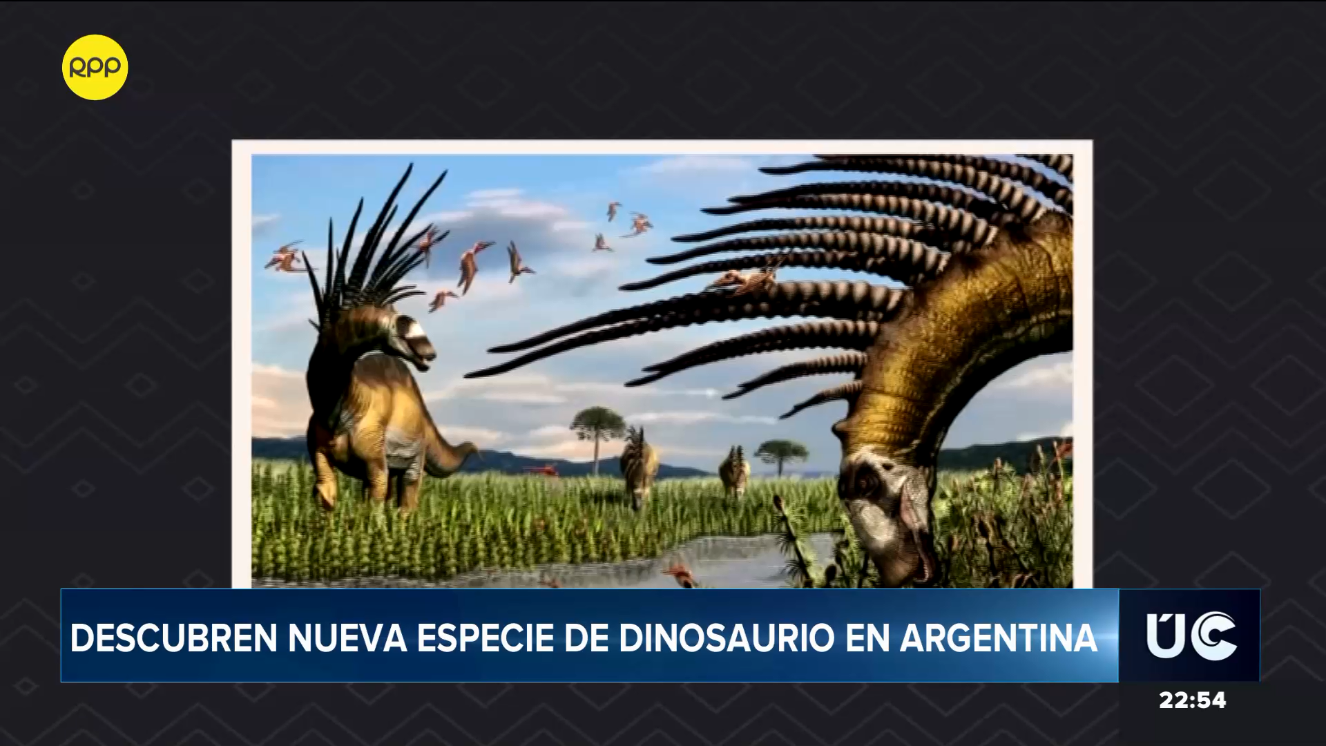 Estos dinosaurios alcanzaban aproximadamente 9 o 10 metros de largo.