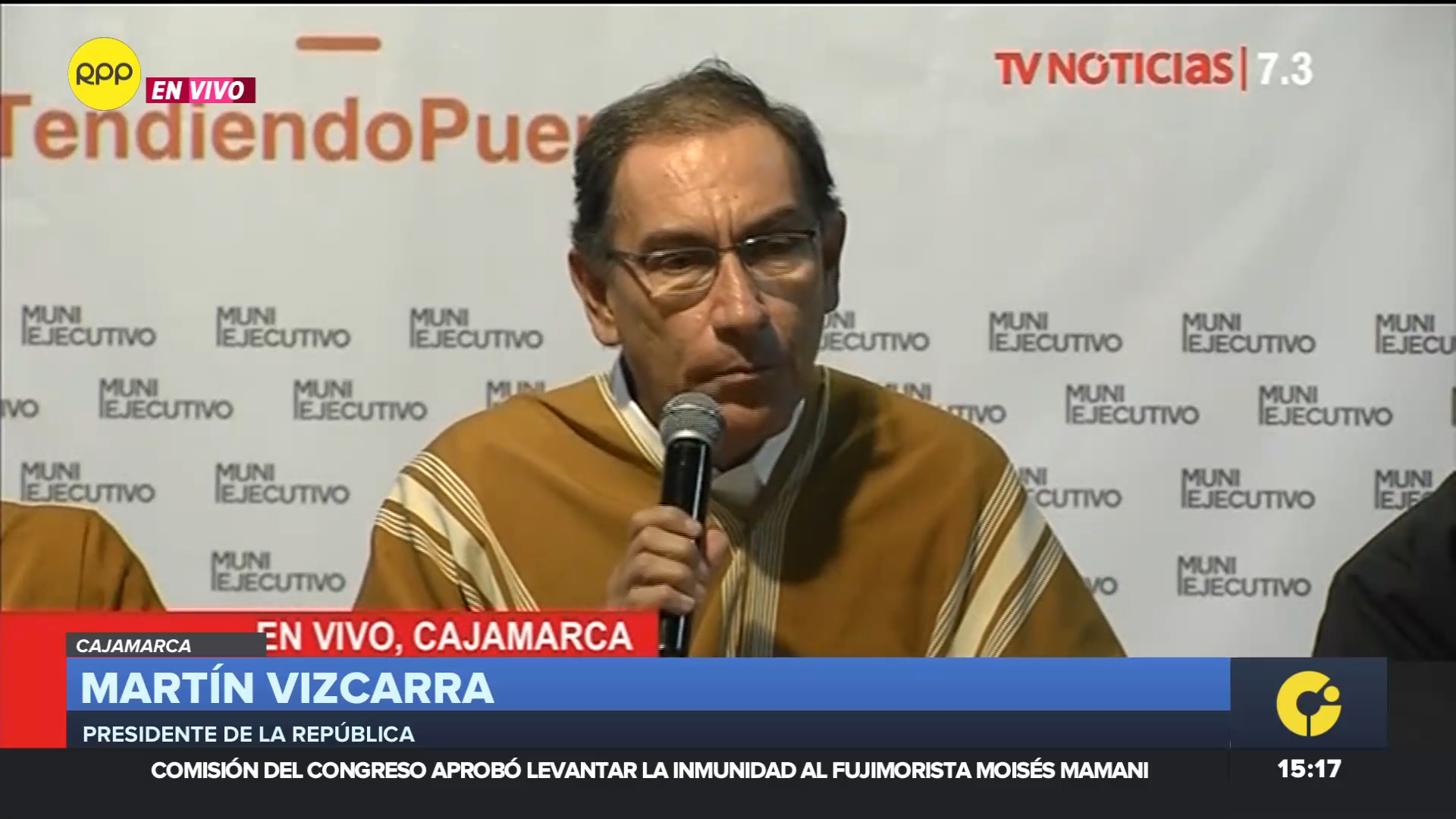 El presidente Vizcarra comentó que fue invitado por Pedro Pablo Kuczynski.