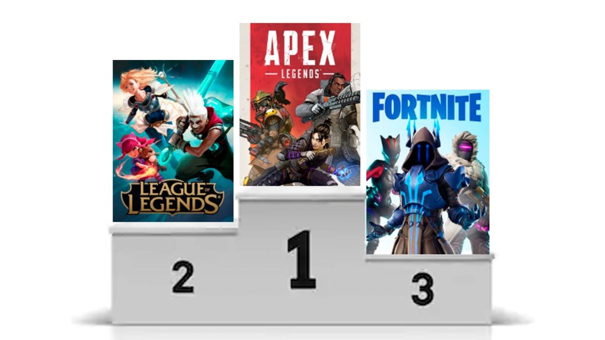 Apex Legends es el nuevo campeón de Twitch.