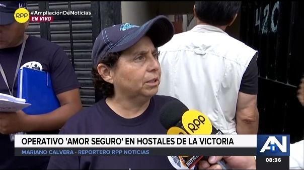 La gerente de fiscalización Susel Paredes encabezó operativo a hospedajes que no contaban con las condiciones respectivas, esto a sólo una semana del Día de San Valentín.