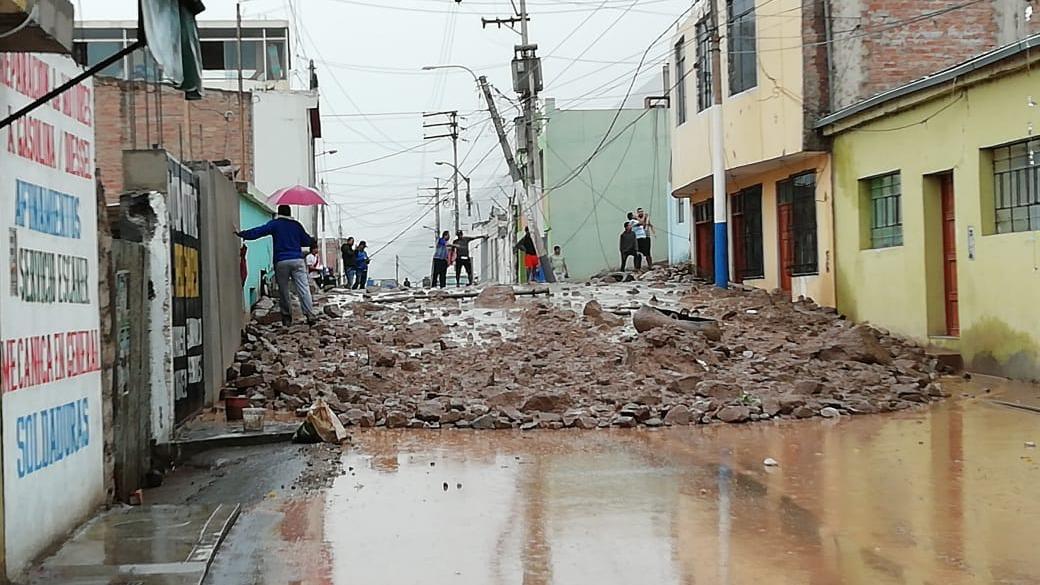 El distrito de Aplao fue uno de los más afectados en esta temporada de lluvias.