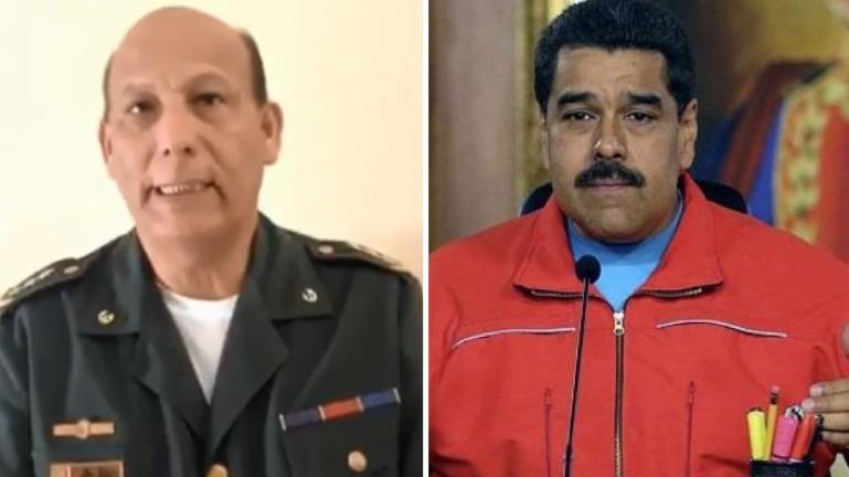 El oficial Paz dijo que Maduro usa a los militares para continuar en el poder.