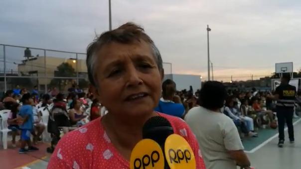 Flor Guerrero recordó que antes Río Seco era un sector muy peligroso.