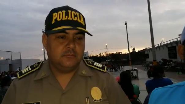 El jefe de la comisaría Nicolás Alcázar, Franco Cox, señala que la violencia familiar es la más frecuente en ese sector.