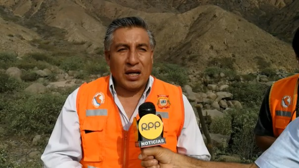 Álvaro  Sánchez,  gerente de la Municipalidad Distrital de El Porvenir.
