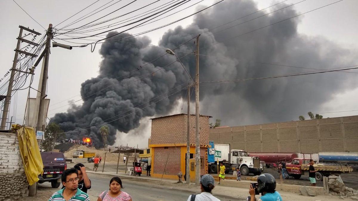 hasta el lugar fueron enviadas 6 unidades de los bomberos
