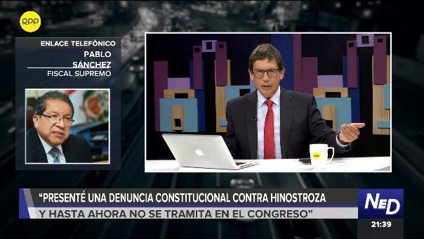 Pablo Sánchez en RPP Noticias.