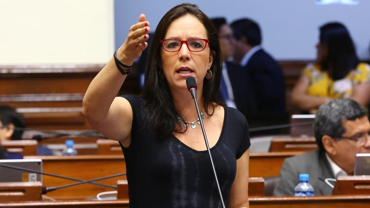 Marisa Glave, congresista de Nuevo Perú, en diálogo con RPP.
