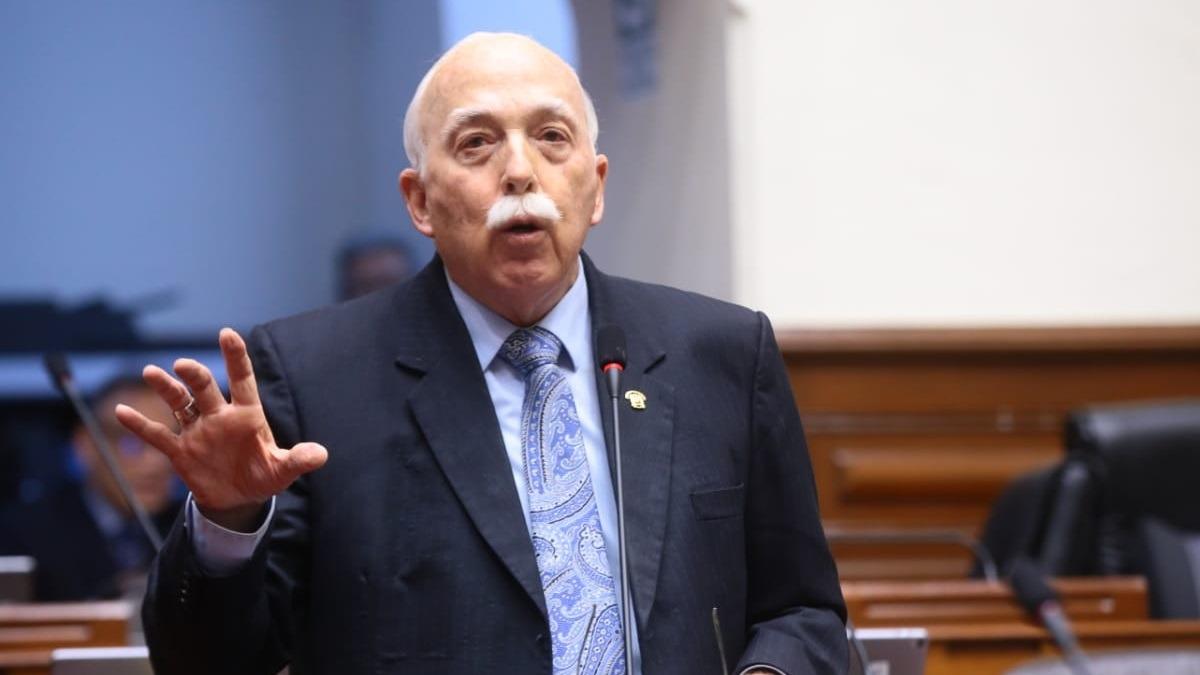 Carlos Tubino, vocero de Fuerza Popular.