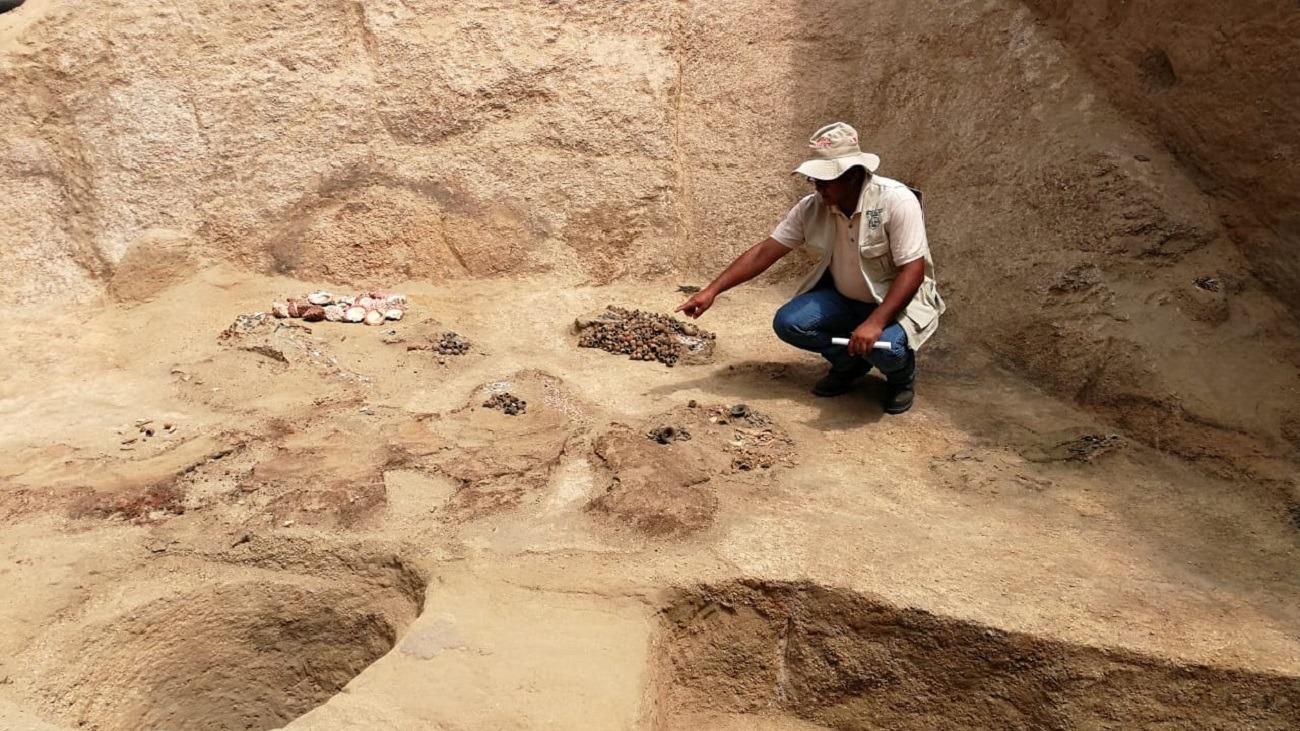 Arqueólogo Luis Chero Zurita explica la magestuosidad de la cámara funeraria