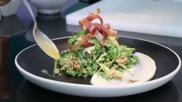 ENSALADA DE QUINUA: El chef Flavio Solórzano te enseña a preparar esta receta.