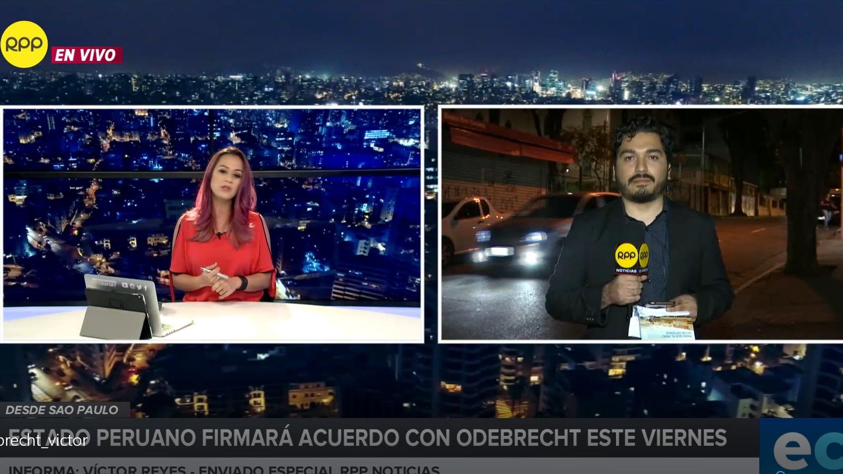 Un equipo especial de RPP Noticias llegó a Sao Paulo, Brasil.