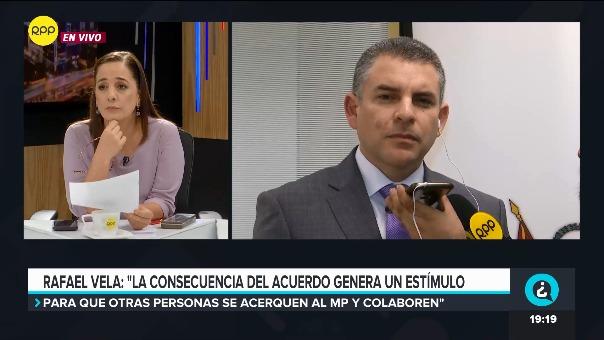Rafael Vela en ¿Quién Tiene la Razón? en RPP.