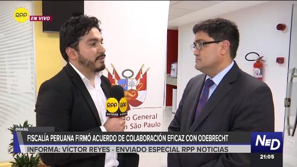 El procurador ad hoc del caso Lava Jato, Jorge Ramírez, habló con RPP Noticias.