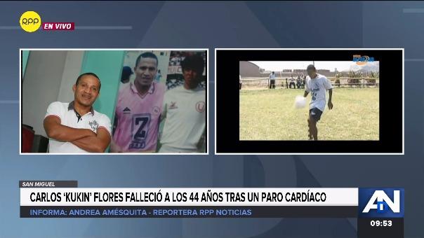 Carlos 'Kukín' Flores falleció a los 44 años.