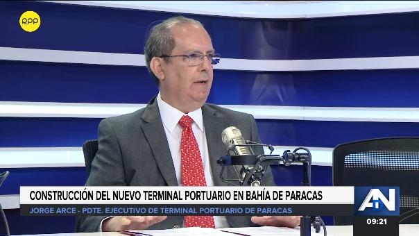 Jorge Arce, presidente ejecutivo del TPP, explicó en el programa