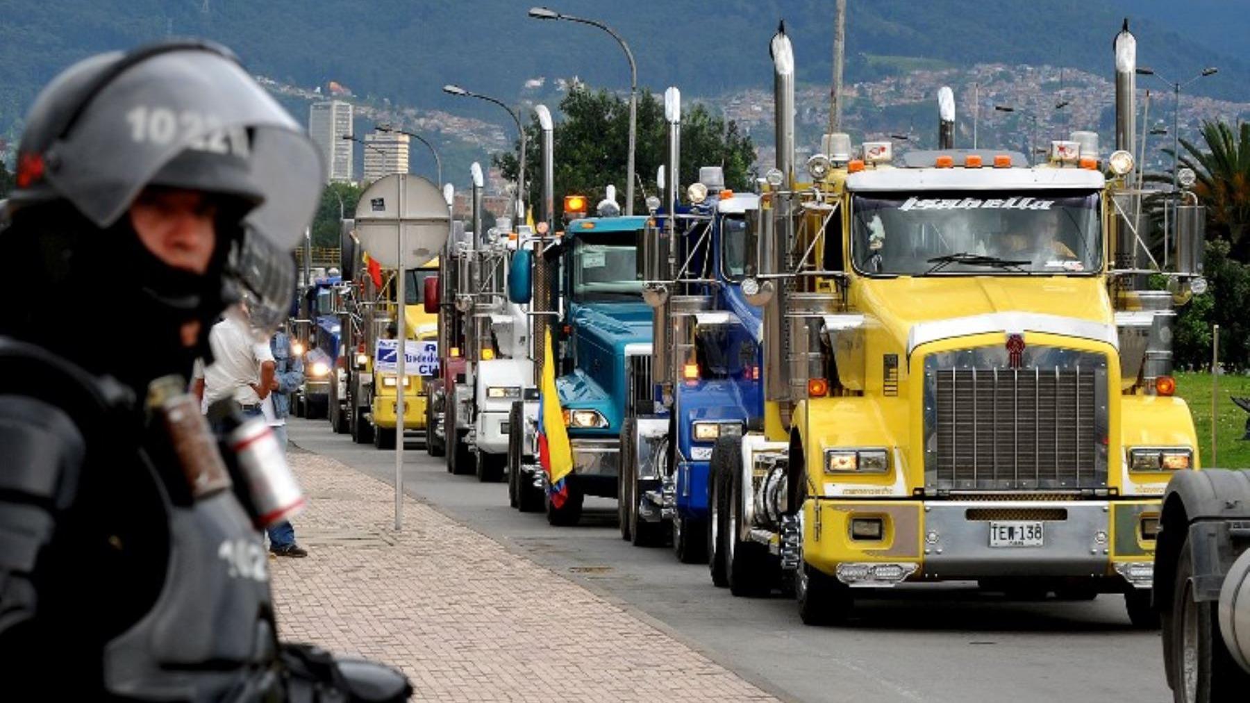 Los camioneros reclaman además una bonificación a los pesos y medidas vehiculares, utilización del GPS y actualización de tabla de valores referenciales.