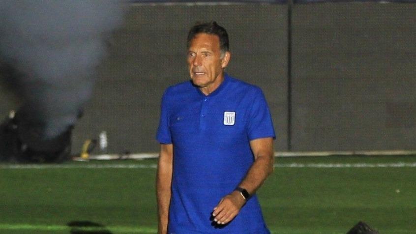 El entrenador de Alianza Lima, Miguel Ángel Russo.