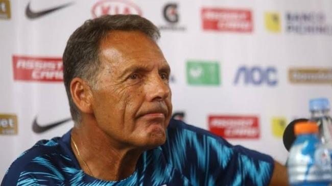 Miguel Ángel Russo, técnico de Alianza Lima.