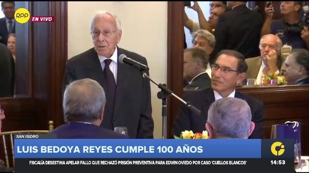 Luis Bedoya Reyes cumple 100 años / Parte 1