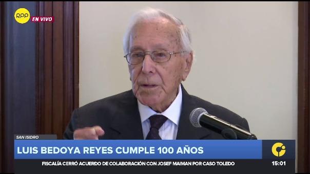 Luis Bedoya Reyes cumple 100 años / Parte 2