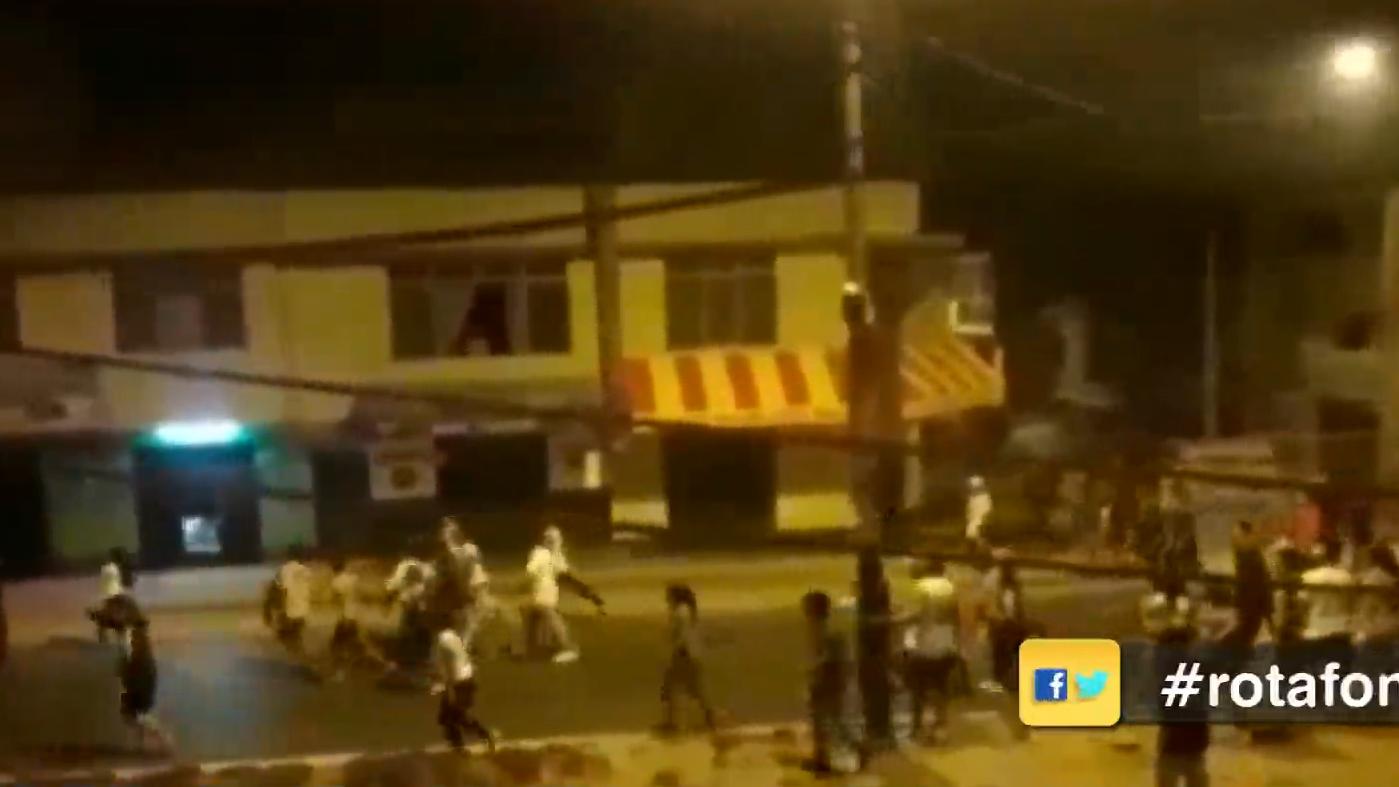 Las personas heridas fueron trasladadas al Hospital María Auxiliadora de San Juan de Miraflores.