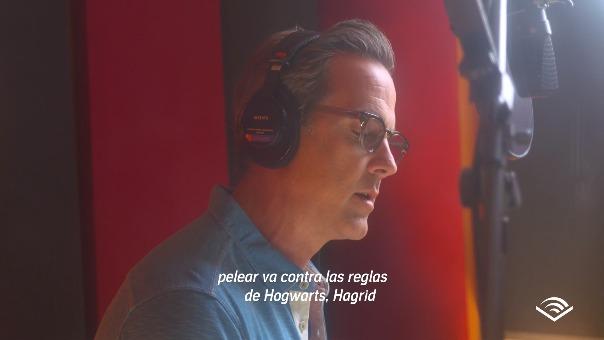 El actor portorriqueño Carlos Ponce es la voz de la obra durante ocho horas