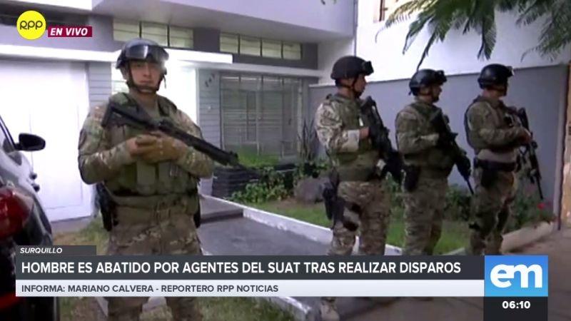 El hecho movilizó a gran cantidad de policías.