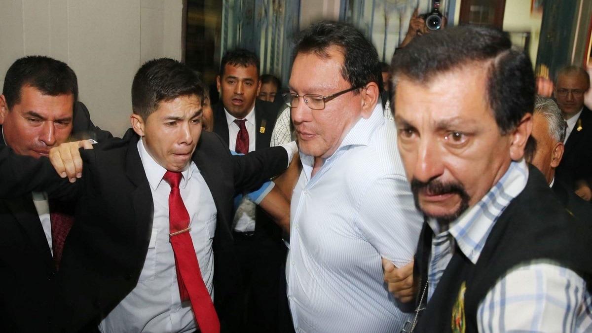 Poder Judicial condenó a Félix Moreno.
