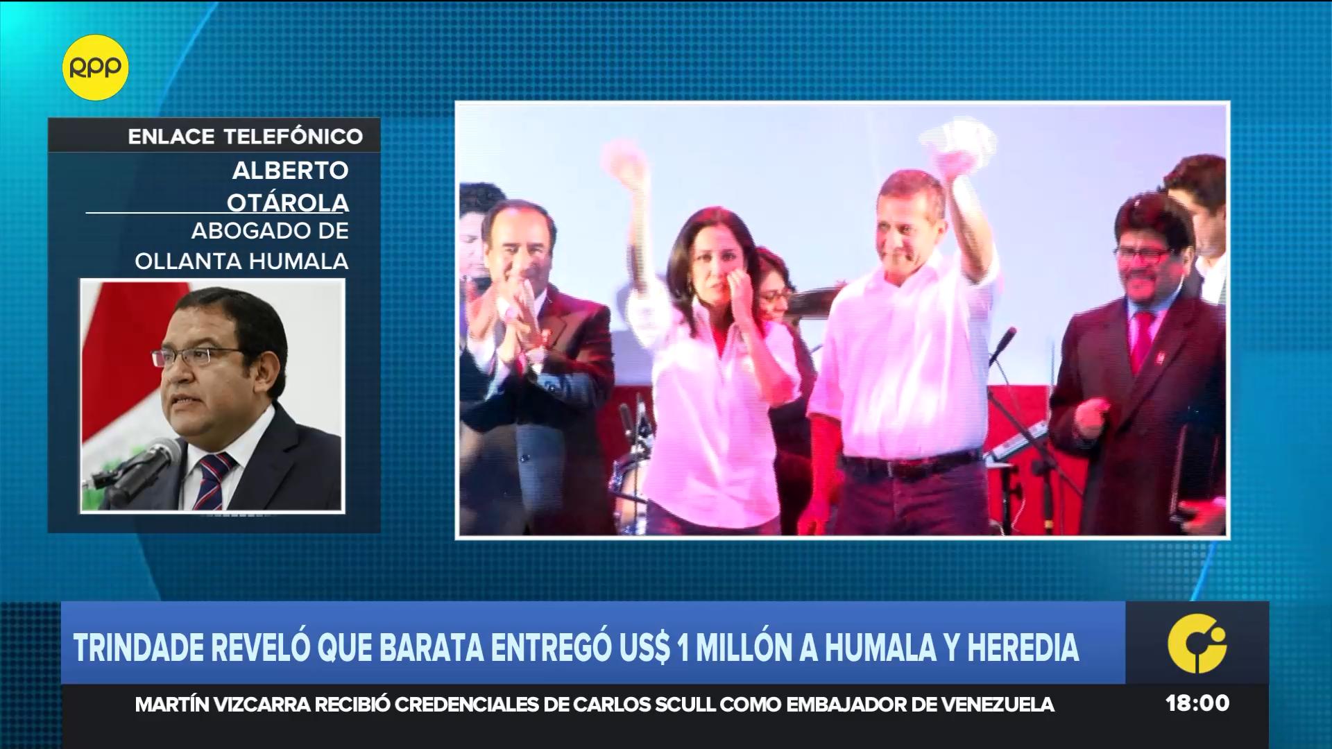 El abogado del expresidente consideró que la investigación a Humala por el caso Gasoducto debe ser archivada.
