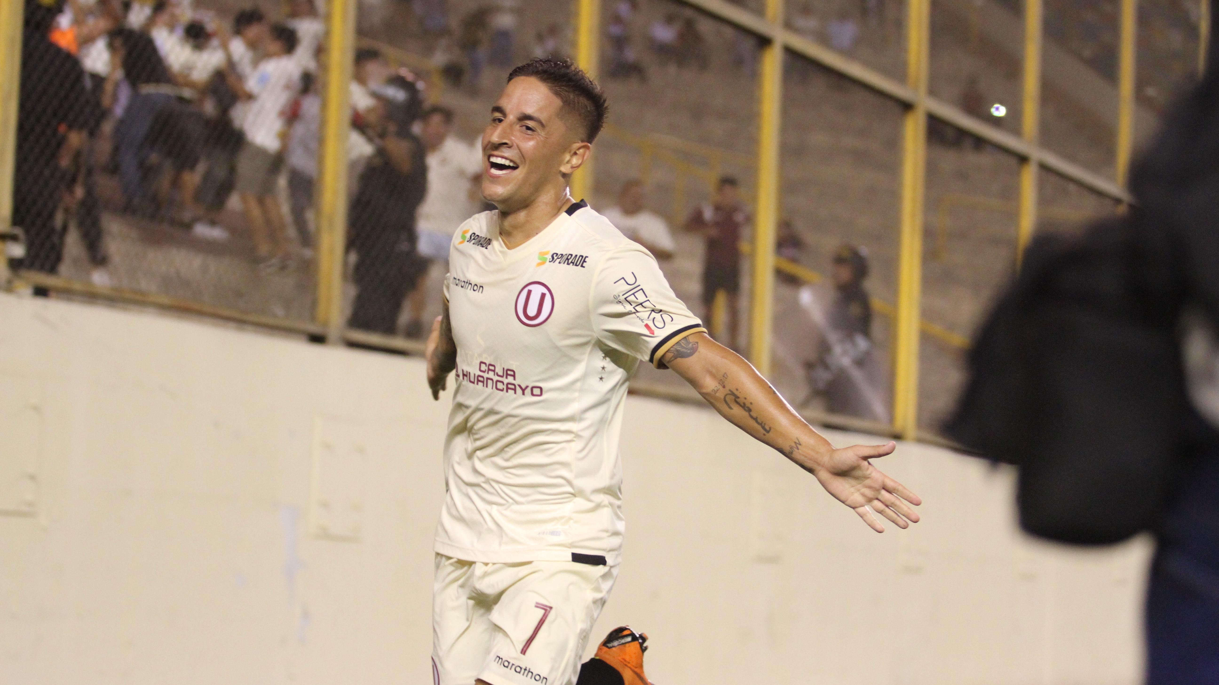 Alejandro Hogberg marcó el segundo gol de Universitario de Deportes