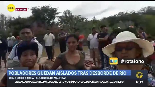 Alcaldesa señala que entre los atrapados hay una mujer embarazada con dolores.